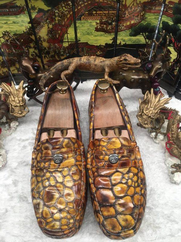 Giày da rùa biển